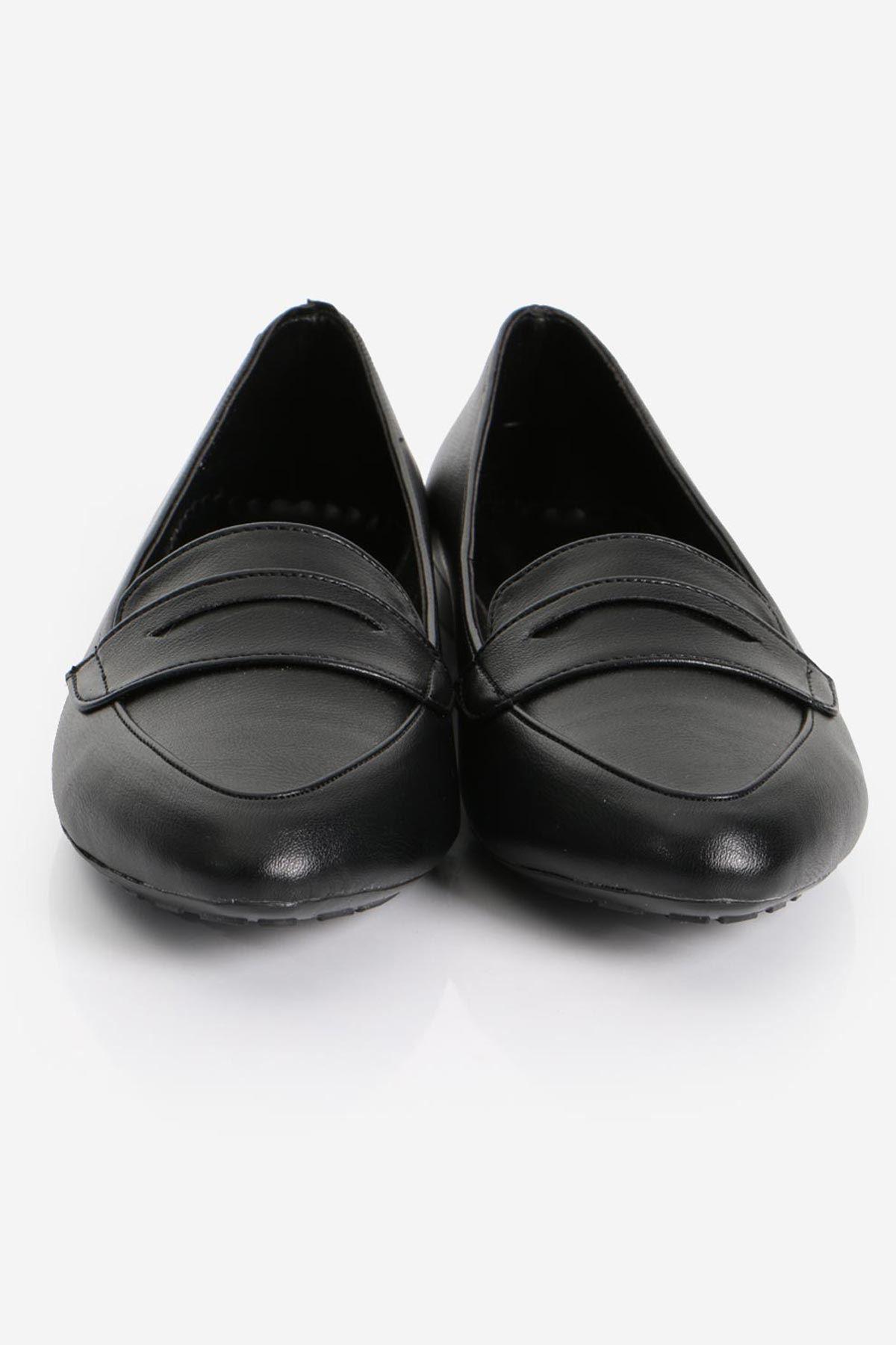 Siyah Deri Babet