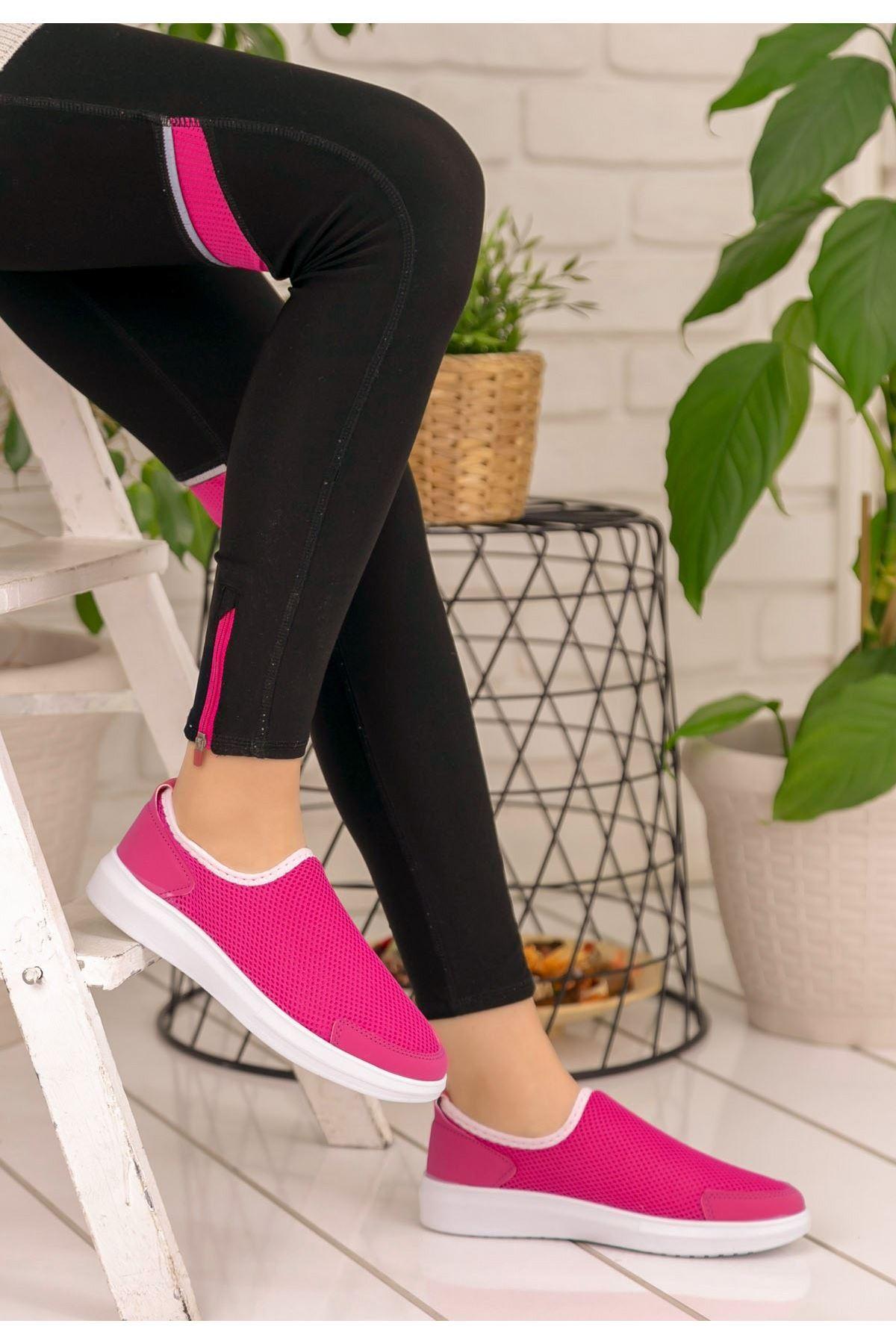 Petrani Fuşya Spor Ayakkabı