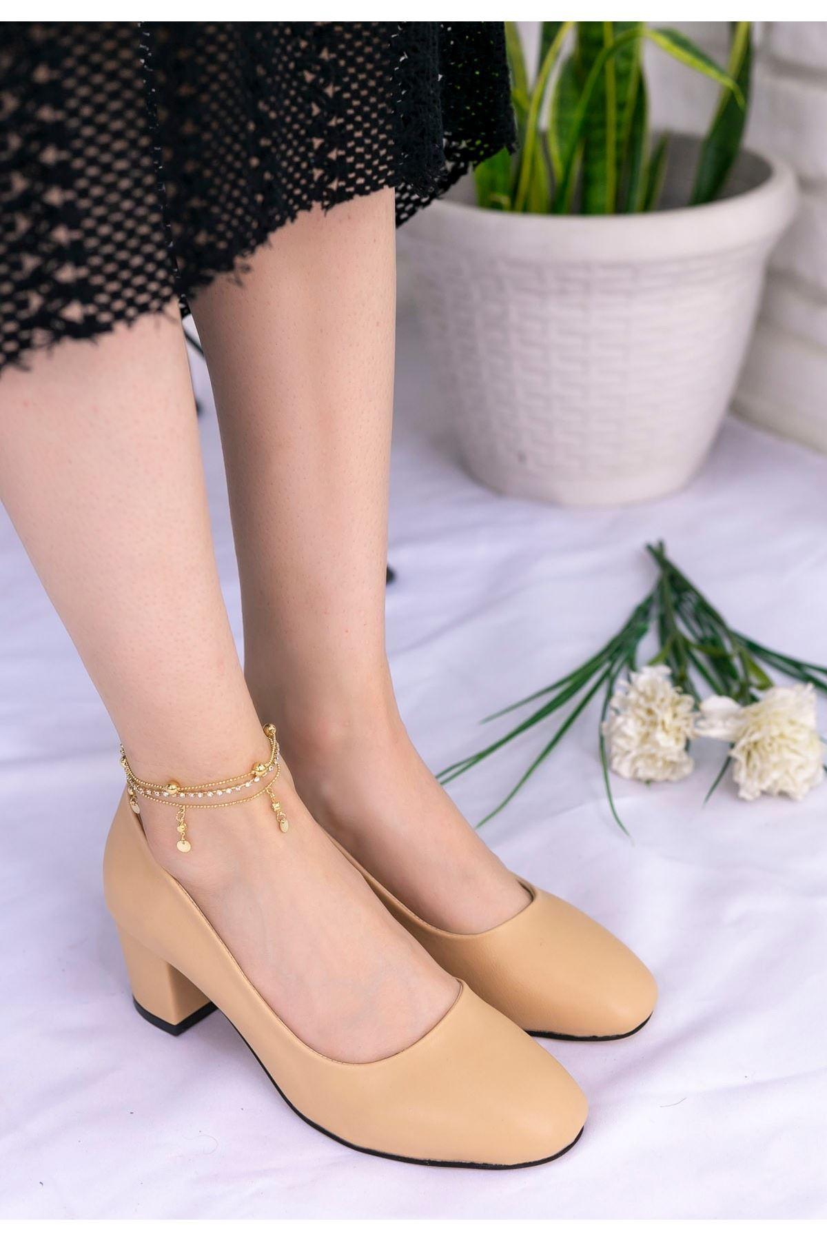 Madis Ten Cilt Topuklu Ayakkabı