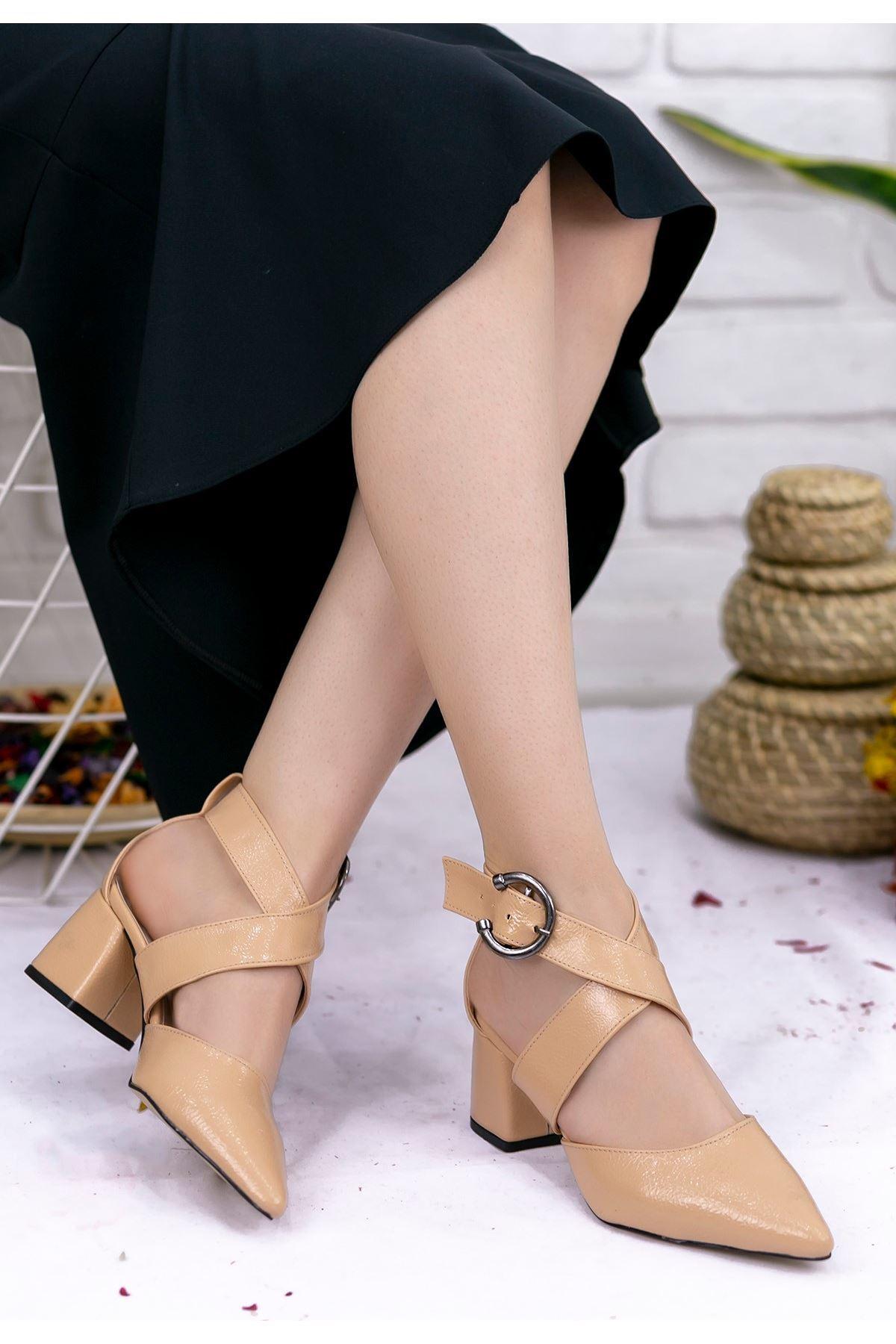 Marvin Ten Cilt Topuklu Ayakkabı