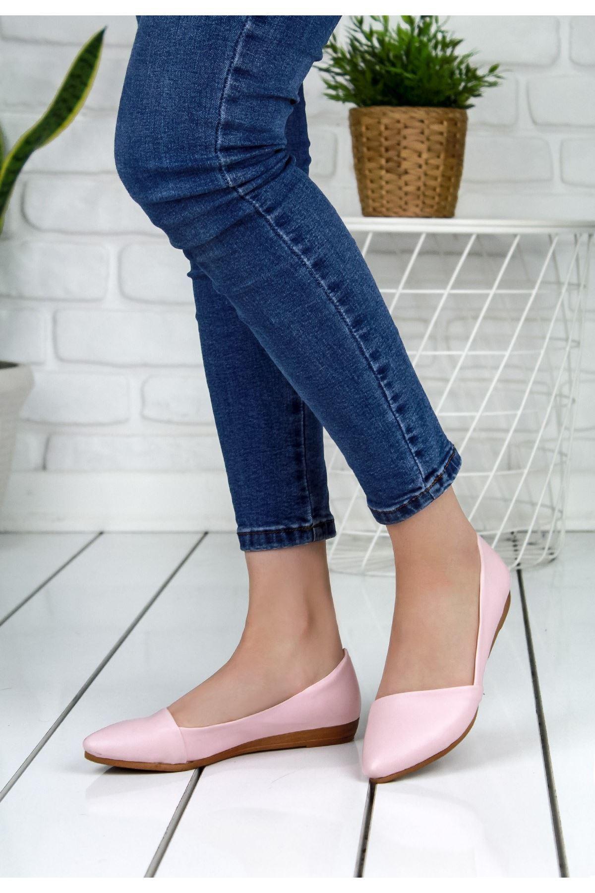 Vitelia Pudra Cilt Babet Ayakkabı