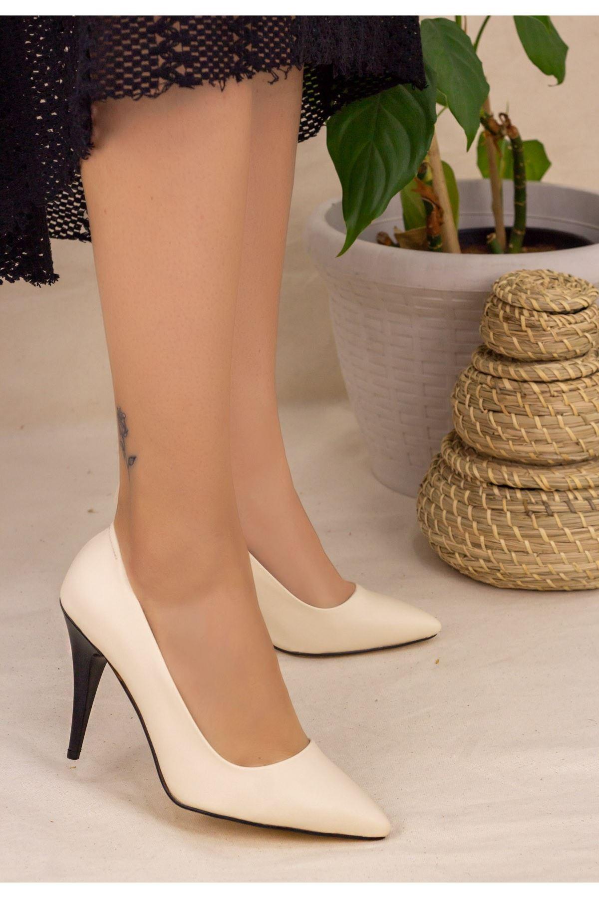 Revaxi Ten Cilt Stiletto Ayakkabı