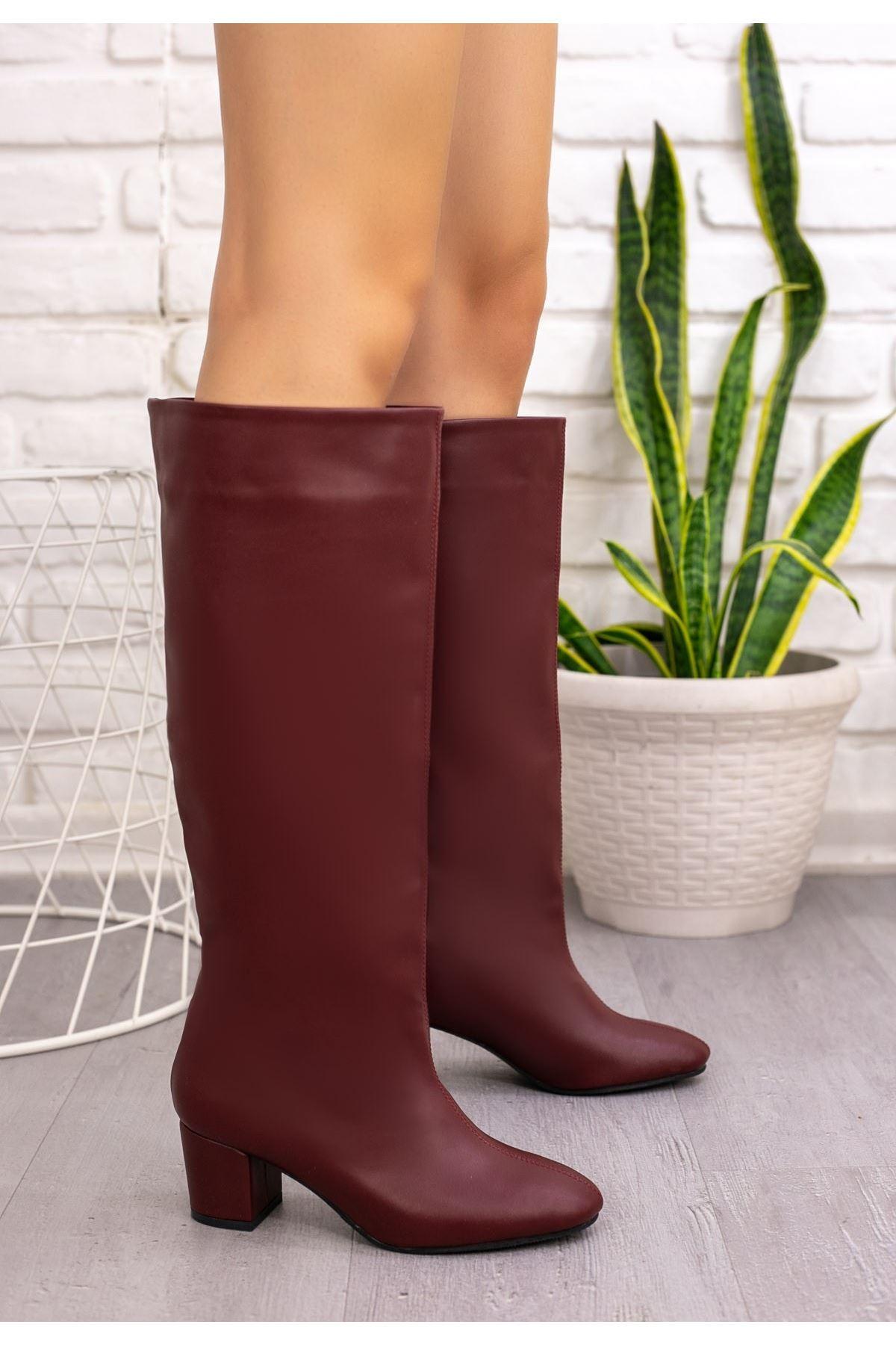 Tayaxi Bordo Cilt Çizme