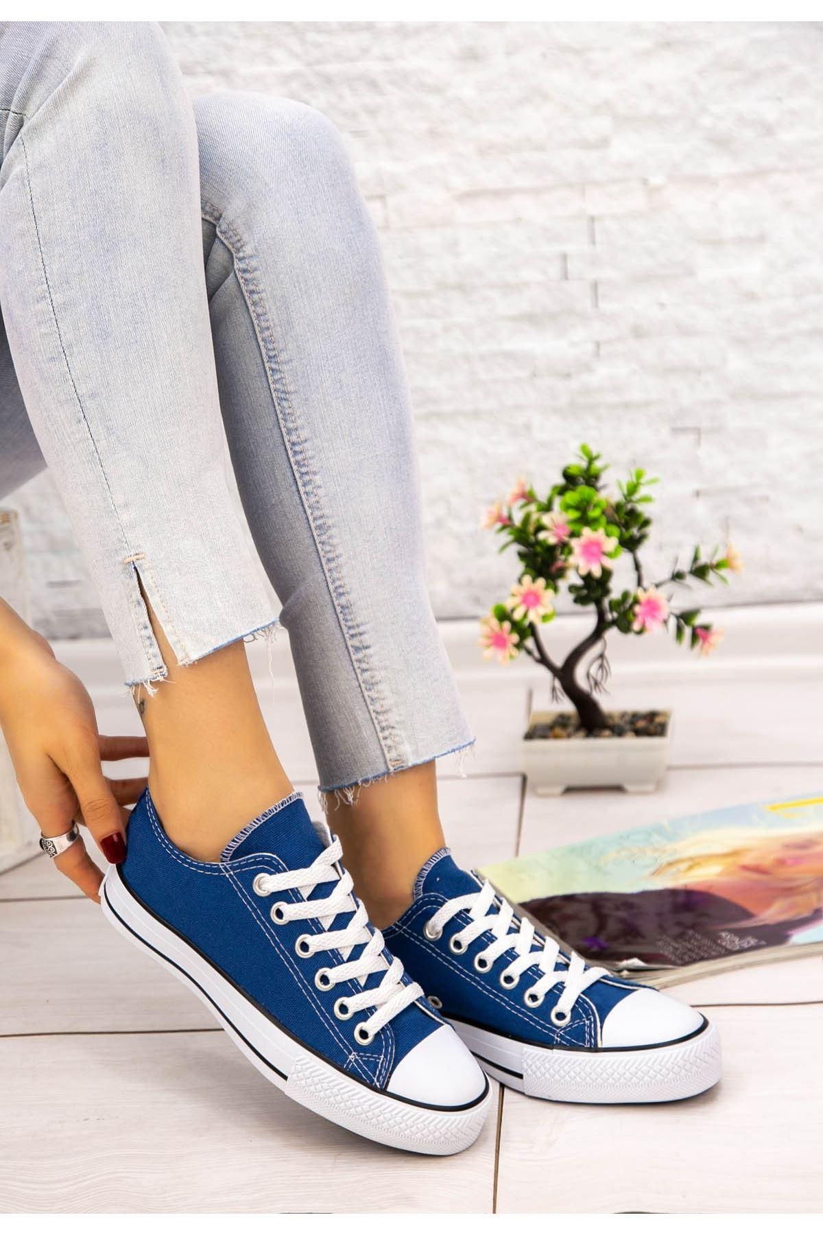 Moxi Kot Keten Spor Ayakkabı