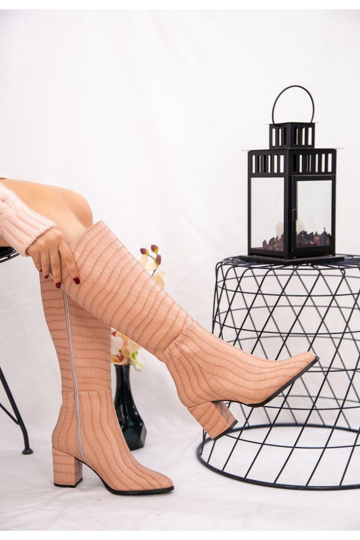 Morena Pudra Cilt Desenli Çizme