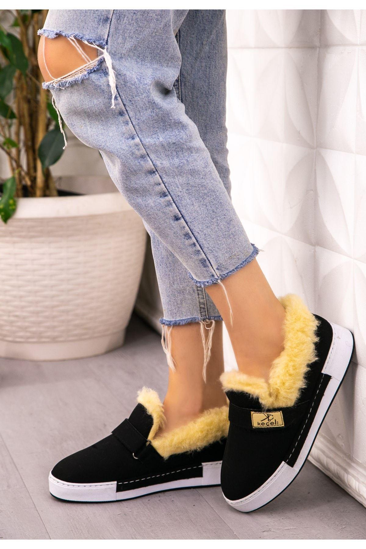 Rion Siyah Süer Babet Ayakkabı