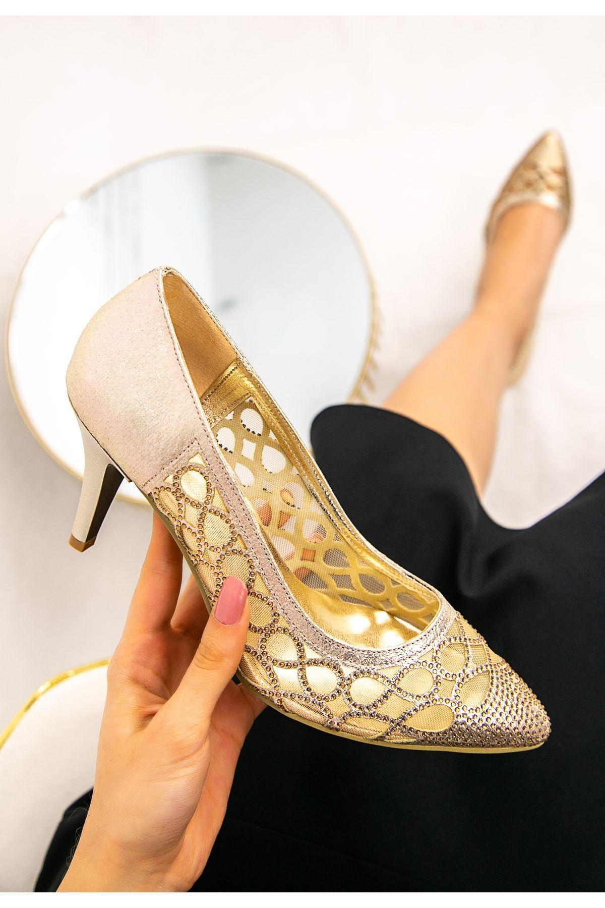 Rome Rose Stiletto Ayakkabı