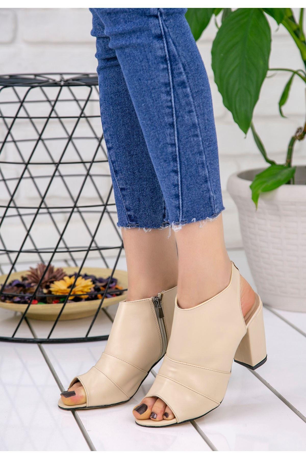Dolly Ten Cilt Topuklu Ayakkabı