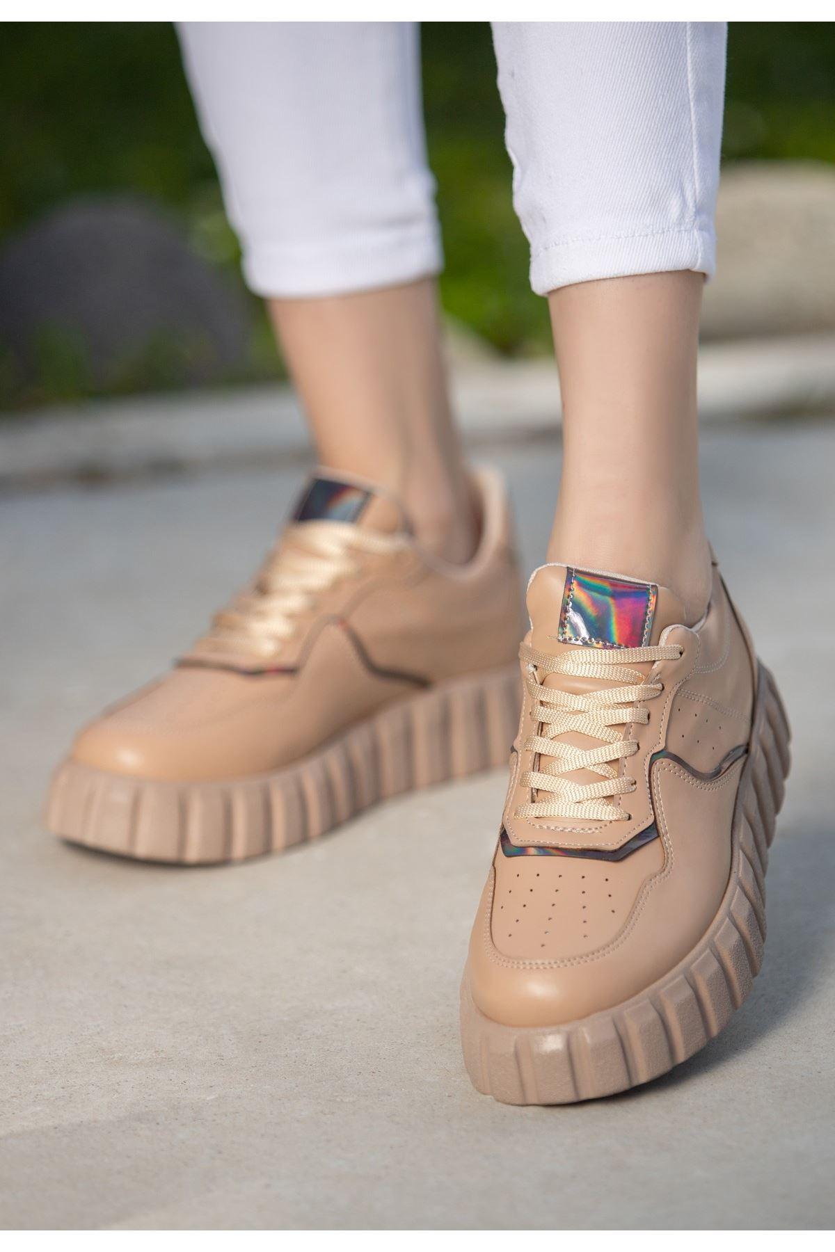 Oris Vizon Cilt Bağcıklı Spor Ayakkabı