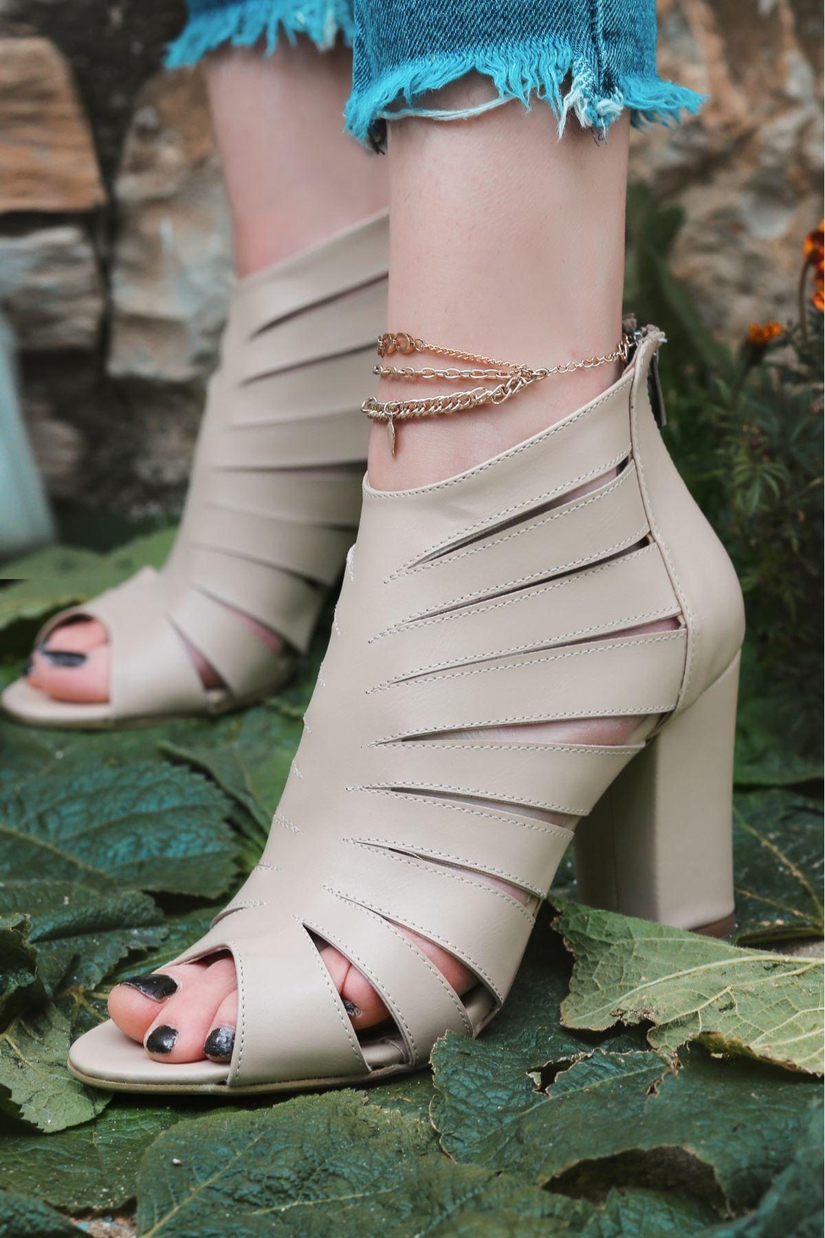 Berd Vizon Cilt Topuklu Ayakkabı