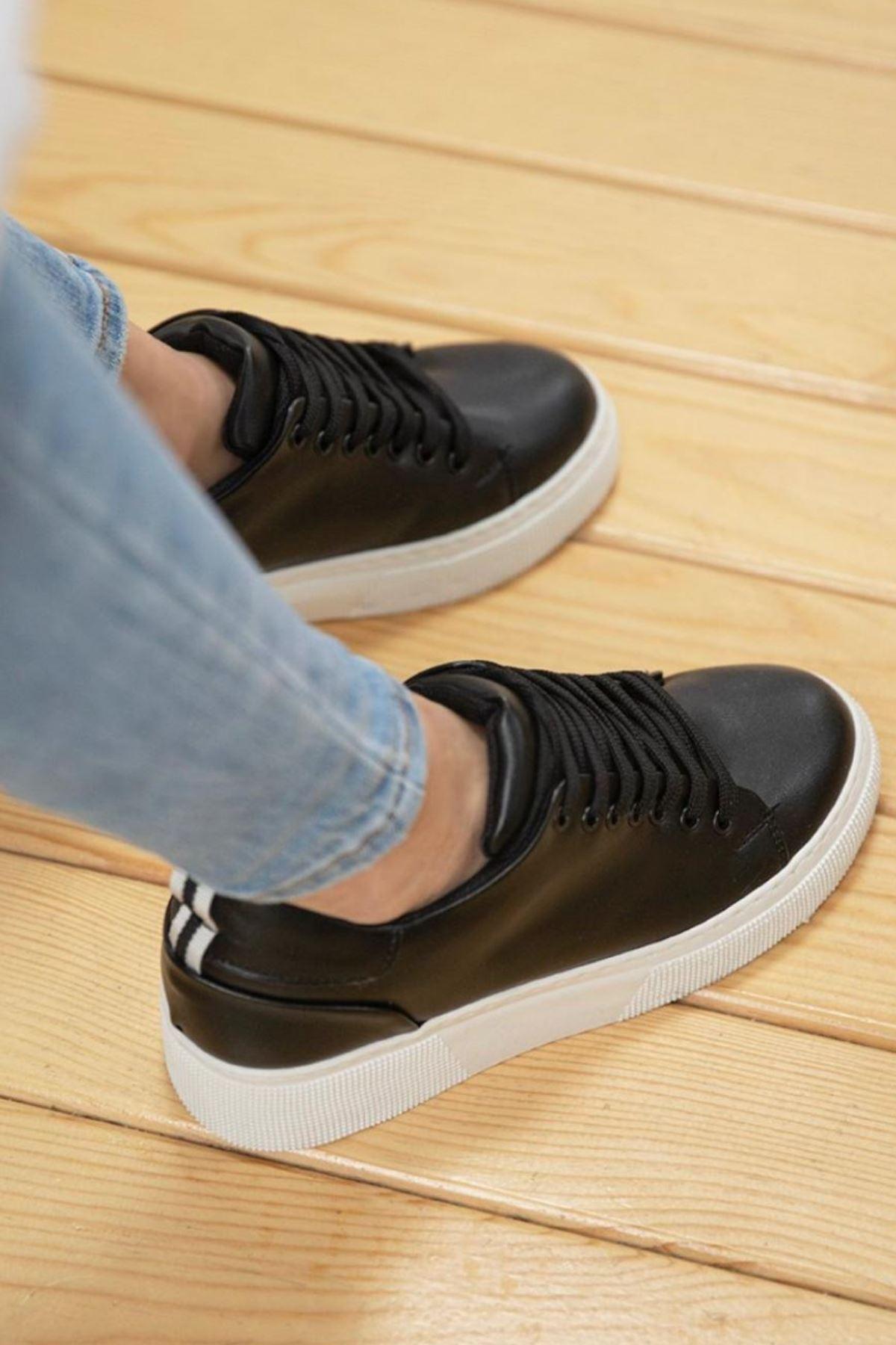 Fengi Siyah Cilt Sneaker
