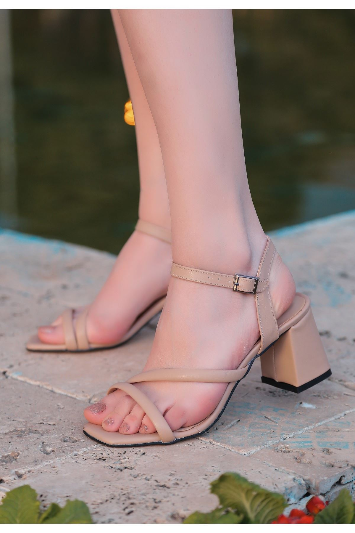 Lior Vizon Cilt Topuklu Ayakkabı