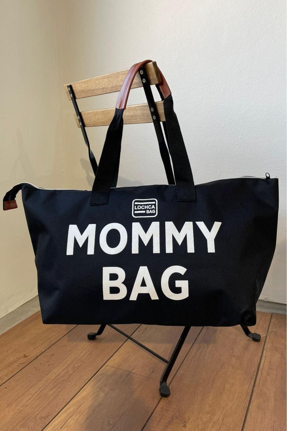 Mommy Siyah İmperteks Seyahat Boy Çanta