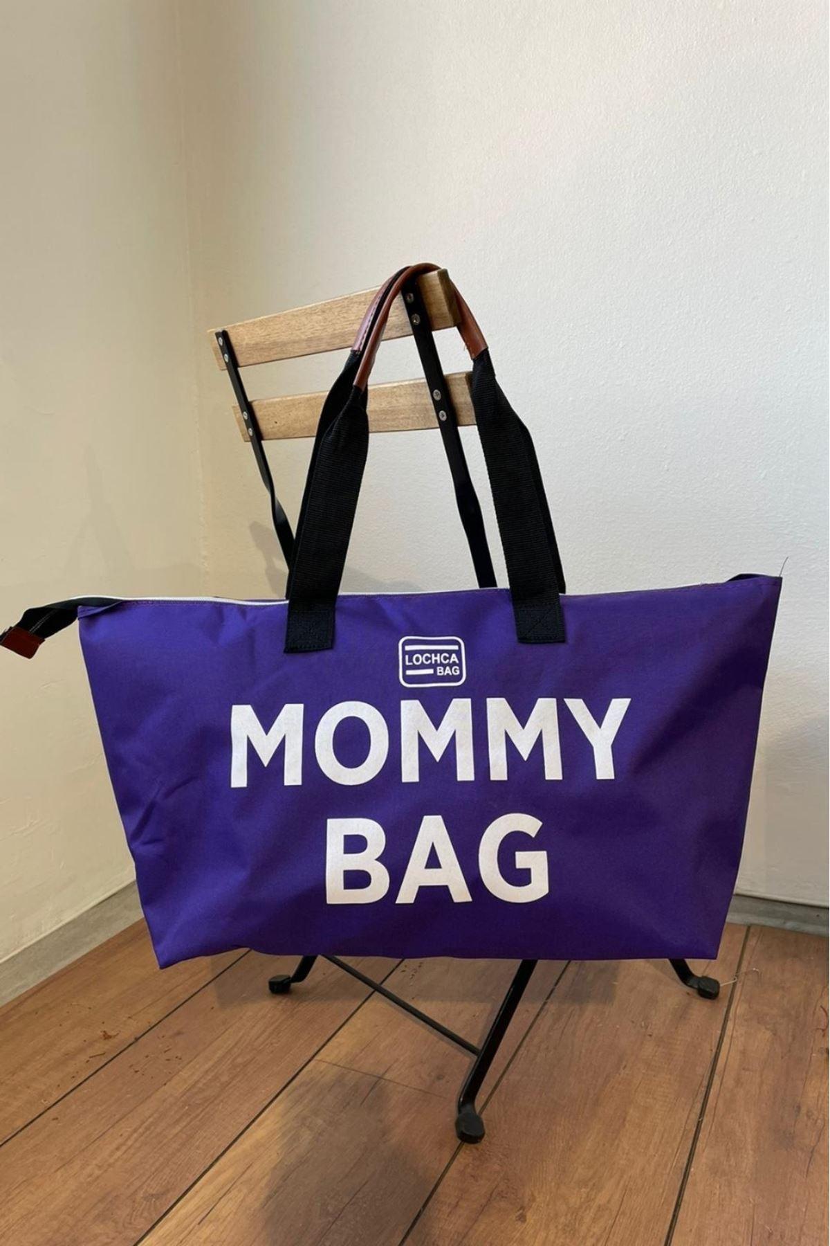 Mommy Mor İmperteks Seyahat Boy Çanta