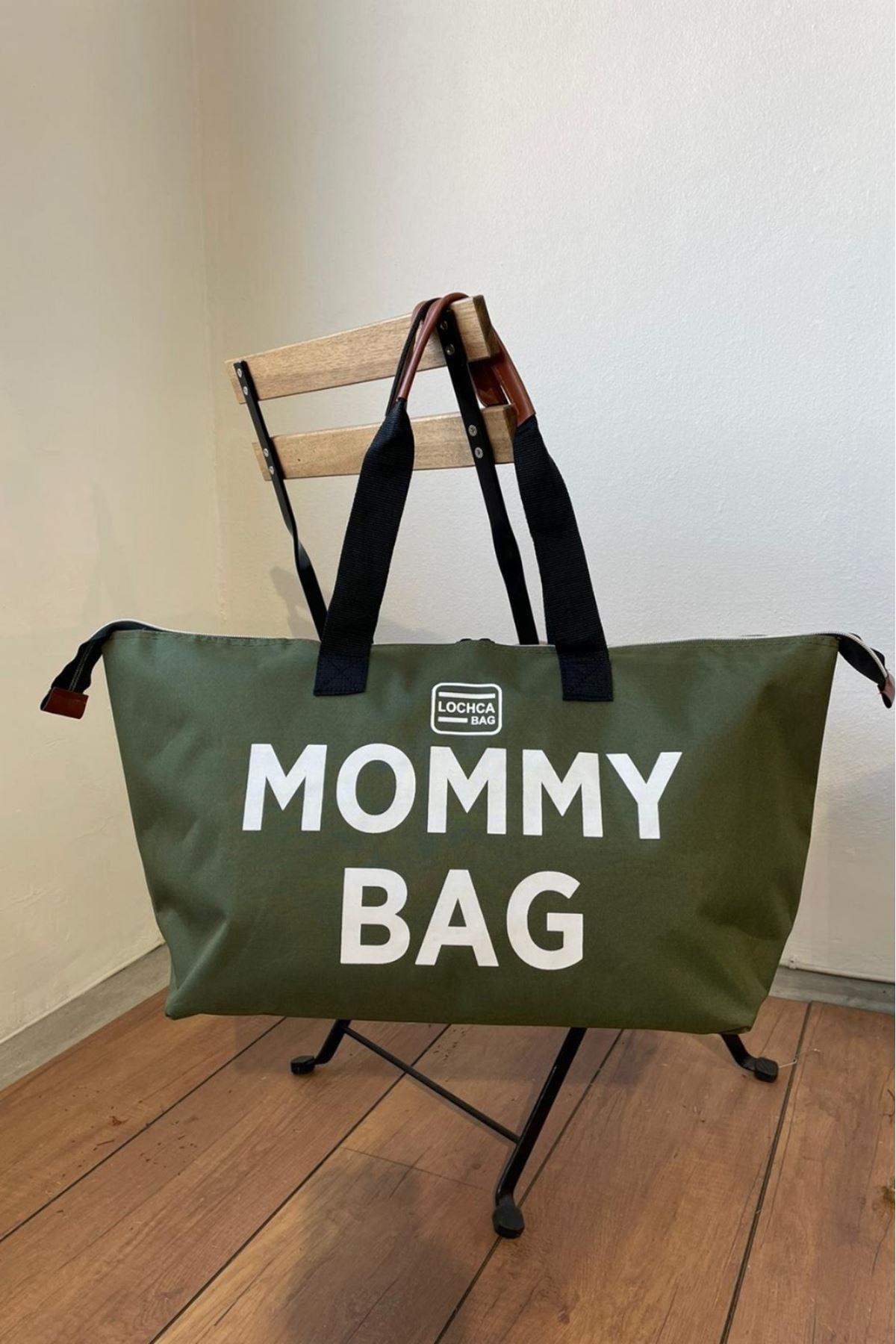 Mommy Haki İmperteks Seyahat Boy Çanta