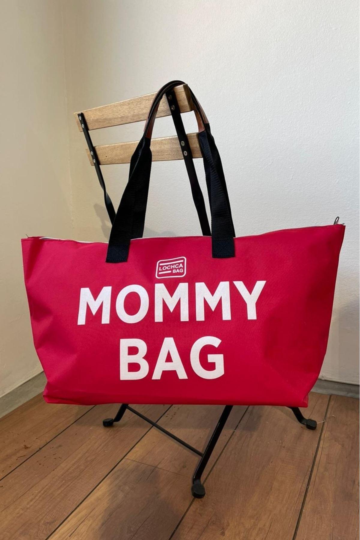 Mommy Kırmızı İmperteks Seyahat Boy Çanta