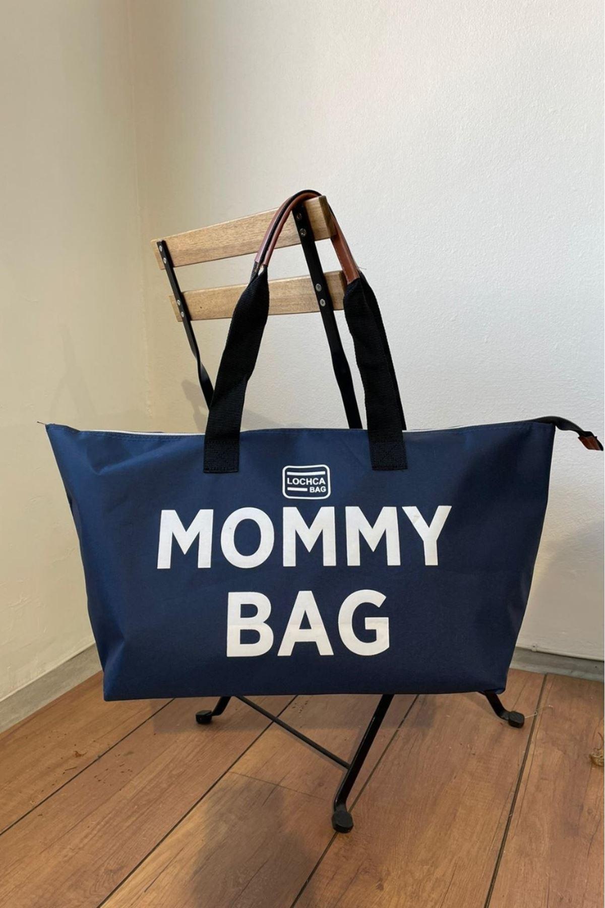 Mommy Lacivert İmperteks Seyahat Boy Çanta