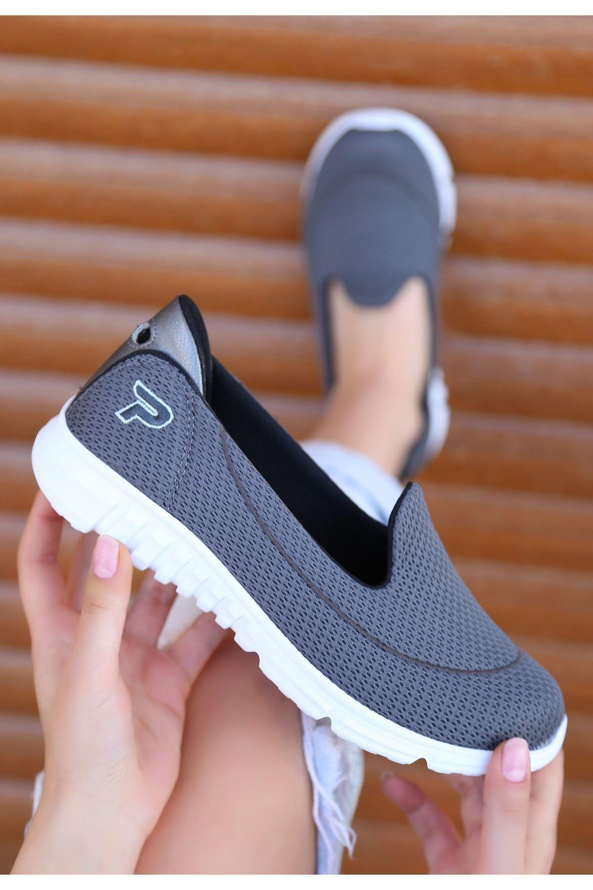 Wian Füme Streç Spor Ayakkabı