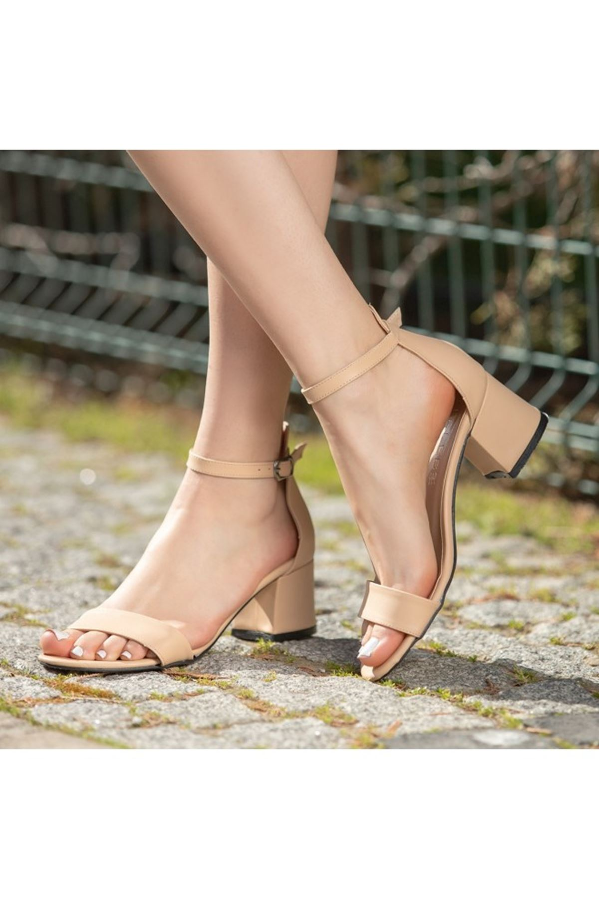 Epon Vizon Cilt Tek Bant Ayakkabı