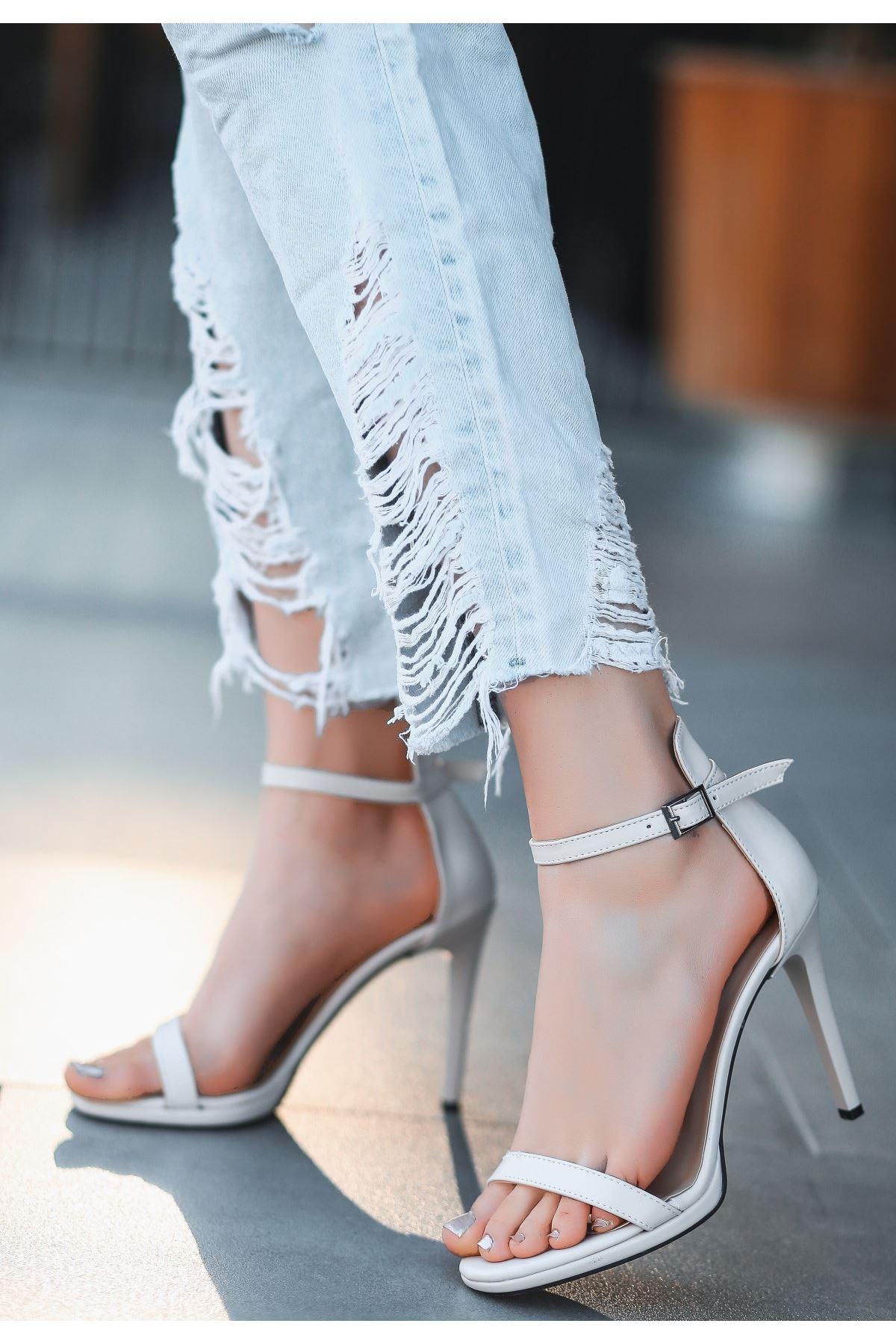 Eica Ten Cilt Topuklu Ayakkabı