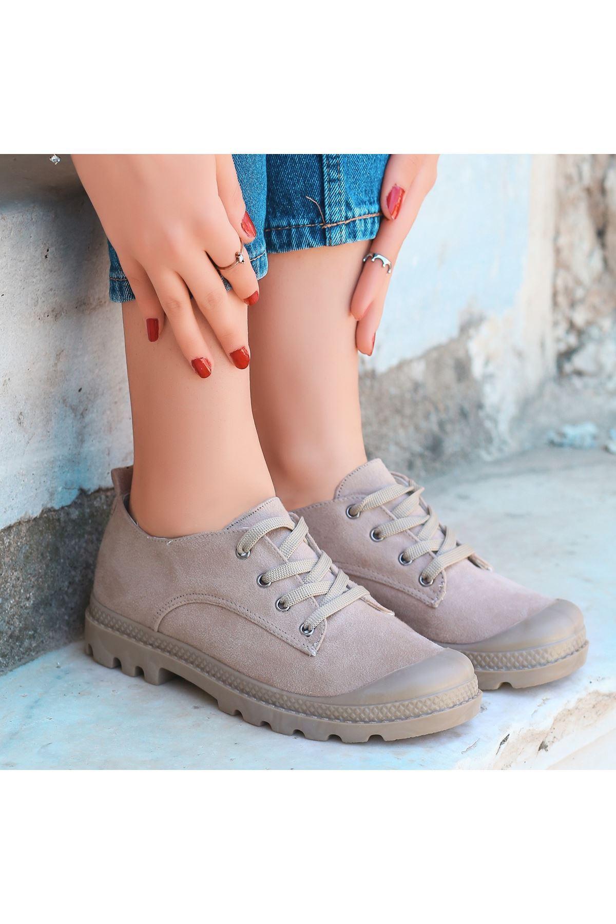 Mash Vizon Süet Bağcıklı Spor Ayakkabı