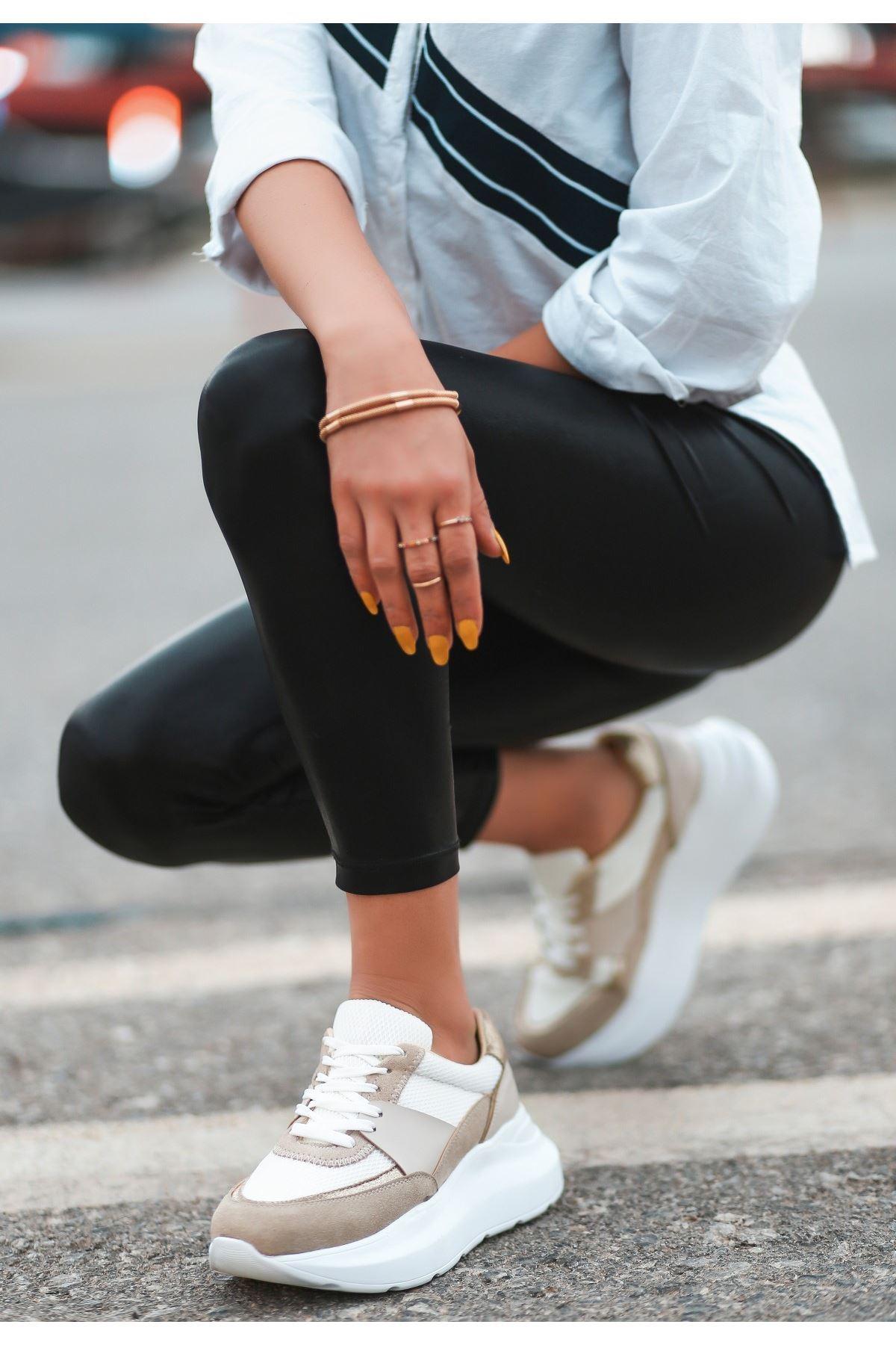 Waly Vizon Süet Bağcıklı Spor Ayakkabı
