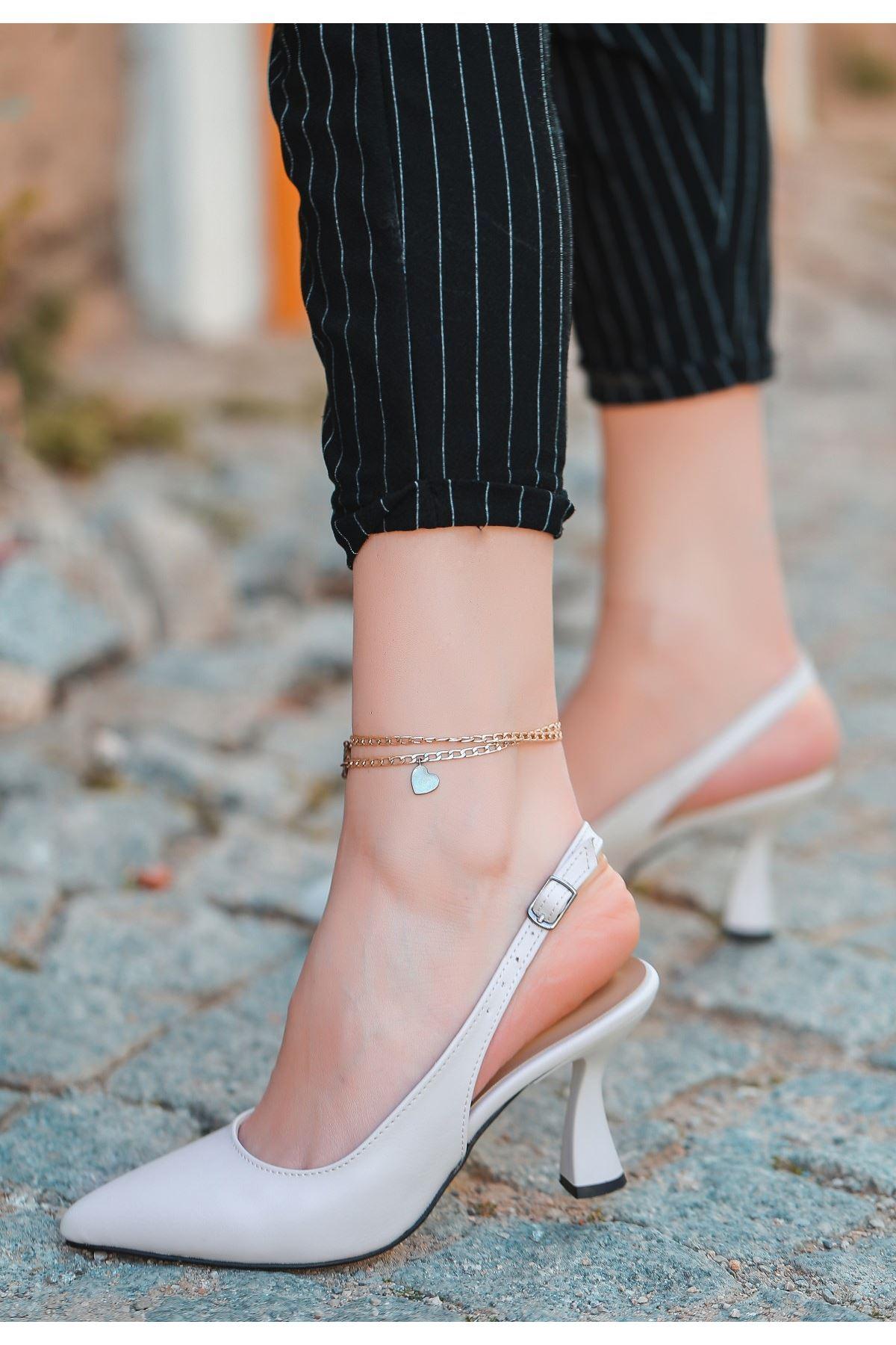Onno Ten Cilt Topuklu Ayakkabı